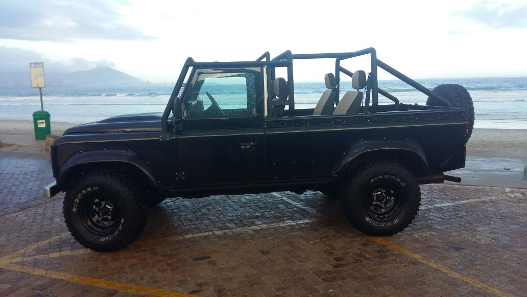 Soft Top Defender Land Rover