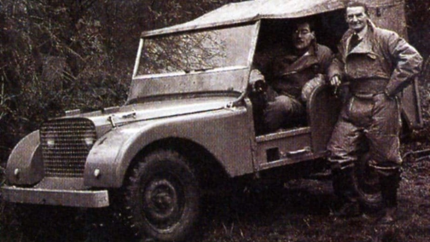 original land rovers