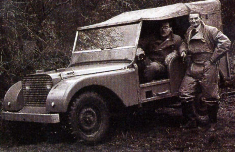 original land rovers