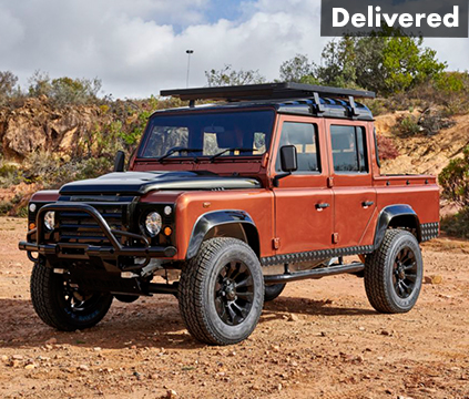 Orange Land Rovers for sale
