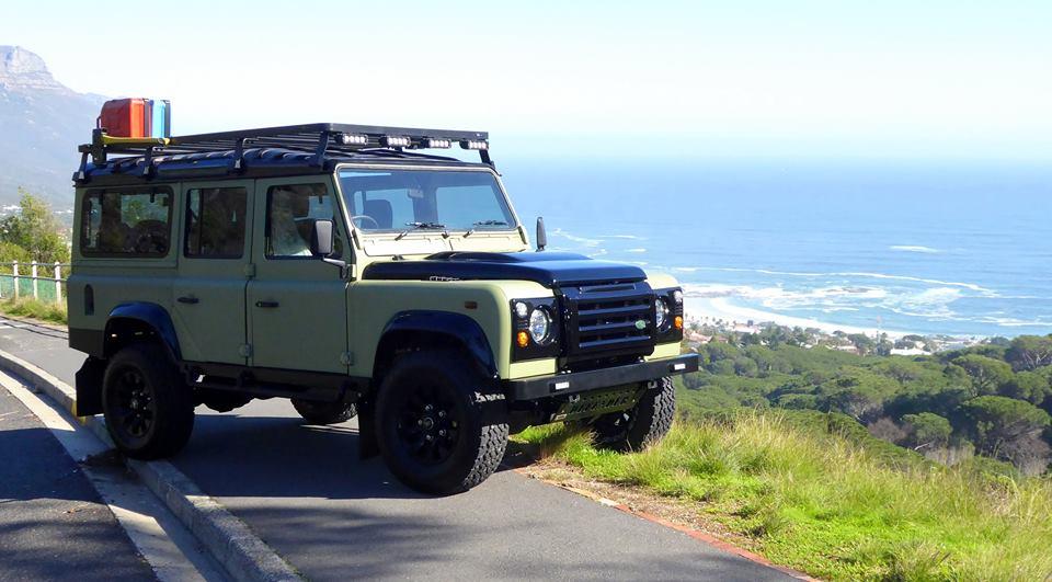 Off-road Land Rover Defender