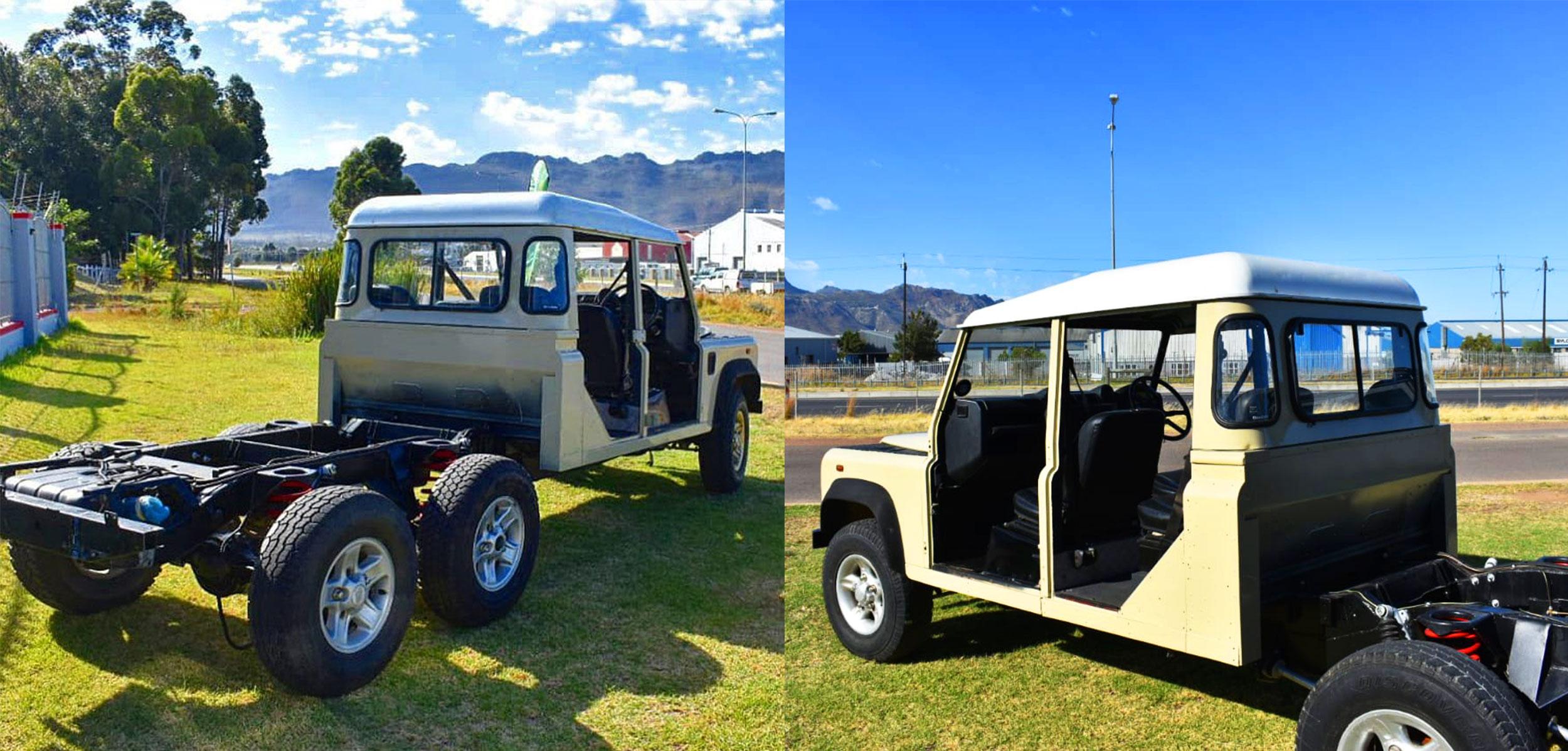 Land Rover 6x6