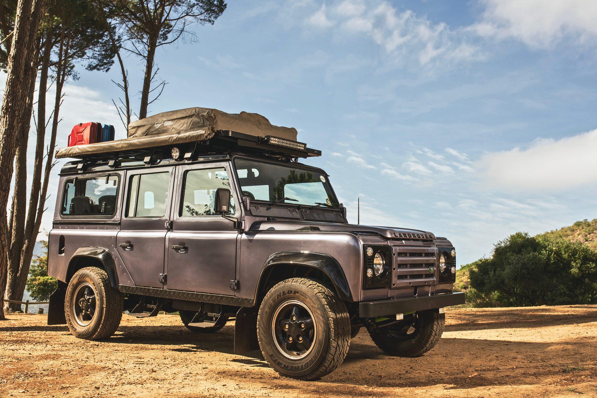 custom classic land rover