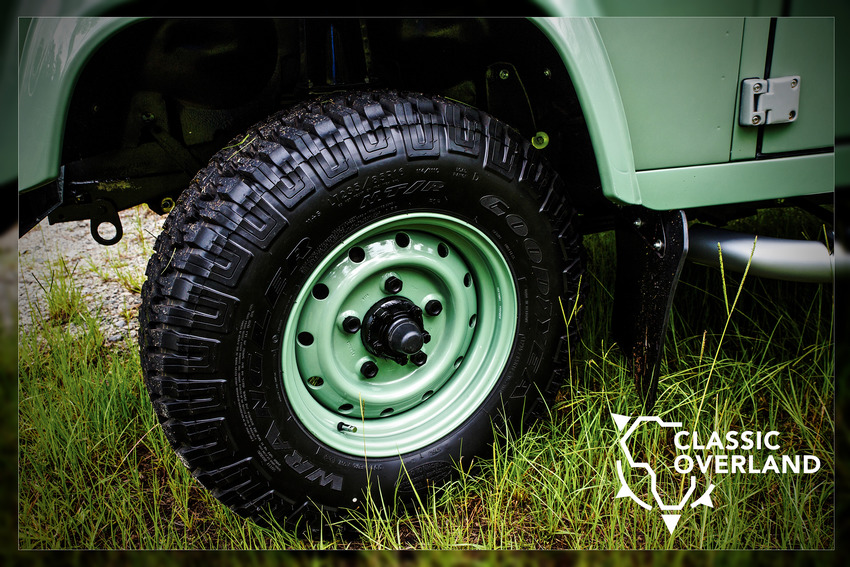 custom built Land rover