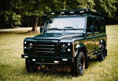 custom overland vehicles Land Rover Defender