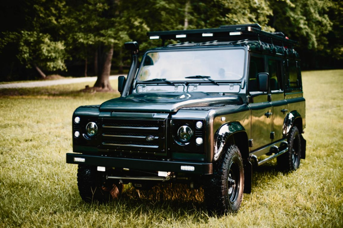 custom overland vehicles Land Rover Defender