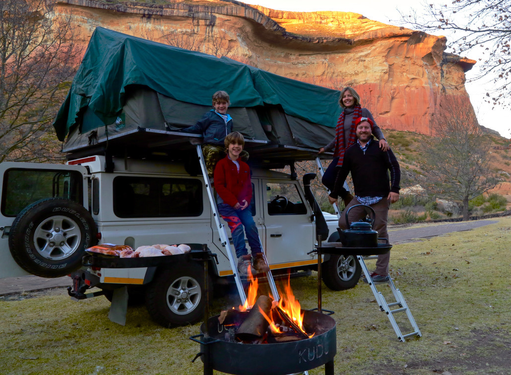 overlanding with family