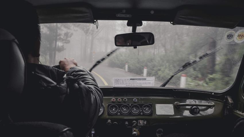 safe driving in rain